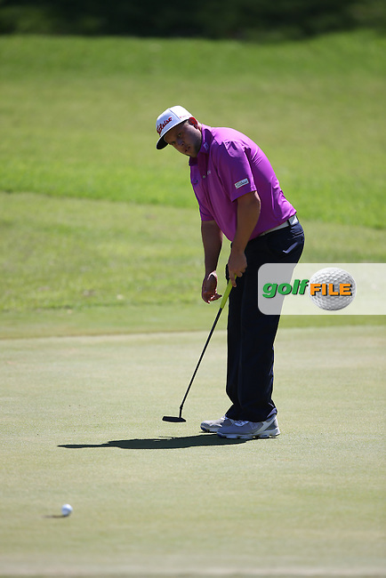 Andrew Johnston (ENG) birdies the 14th during Round Three of the Africa Open 2015 at the East London Golf Club, East London, Eastern Cape, South Africa. Picture:  David Lloyd / www.golffile.ie. 07/03/2015