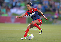 Boyds, MD - Saturday Sept. 03, 2016: Caprice Dydasco during a regular season National Women's Soccer League (NWSL) match between the Washington Spirit and the Western New York Flash at Maureen Hendricks Field, Maryland SoccerPlex.