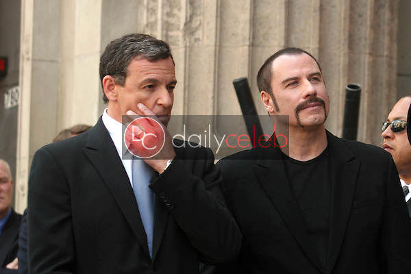 Bob Iger and John Travolta<br />at the ceremony honoring Michael D. Eisner with the 2,361st Star on the Hollywood Walk of Fame. Hollywood Boulevard, Hollywood, CA. 04-25-08<br />Dave Edwards/DailyCeleb.com 818-249-4998