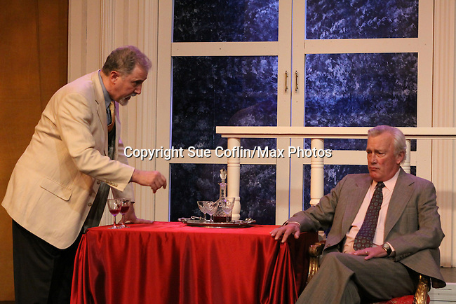 """David M. Mead and As The World Turns' Bill Tatum star in Moliere's """"Tartuffe"""" from Jan. 13 to Jan 29 at the WorkShop Theatre, New York City, New York. Photos on costume were taken on January 9, 2011. (Photo by Sue Coflin/Max Photos)"""