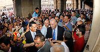 Vicente del Bosque recibe homenaje en Salamanca...12-07-2012