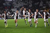 Juventus player celebrate at the end of the match <br /> Torino 19/10/2019 Allianz Stadium <br /> Football Serie A 2019/2020 <br /> Juventus FC - Bologna <br /> Photo Federico Tardito / Insidefoto