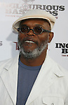 "HOLLYWOOD, CA. - August 10: Samuel L. Jackson arrives at the Los Angeles premiere of ""Inglorious Basterds"" at the Grauman's Chinese Theatre on August 10, 2009 in Hollywood, California."