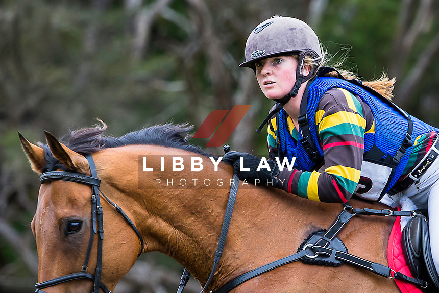 NZL-Olivia McDermott (BALLACHULISH) 3C NZPC 80: 2015 NZL-Hunua Pony Club ODE (Sunday 1 February) CREDIT: Libby Law COPYRIGHT: LIBBY LAW PHOTOGRAPHY