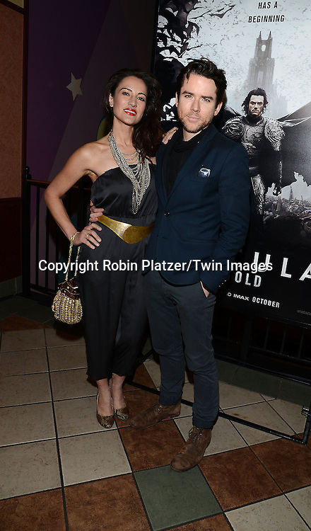 America Olivo and husband Christian Campbell  attends the Special Screening of &quot;Dracula Untold&quot;  on October 6, 2014 at The ABC Loews 34th Street Imax Theatre In New York City. <br /> <br /> photo by Robin Platzer/Twin Images<br />  <br /> phone number 212-935-0770