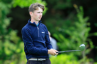Cormac Dillon (Oughterard) on the 1st tee during the Connacht U12, U14, U16, U18 Close Finals 2019 in Mountbellew Golf Club, Mountbellew, Co. Galway on Monday 12th August 2019.<br /> <br /> Picture:  Thos Caffrey / www.golffile.ie<br /> <br /> All photos usage must carry mandatory copyright credit (© Golffile | Thos Caffrey)