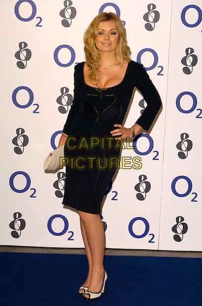 KATHERINE JENKINS.Attending the Nordoff-Robins 02 Silver Clef Luncheon, Hilton Park Lane Hotel, London, England,.June 29th 2007..full length black Katharine hand on hip dress Catherine cleavage.CAP/CAN.©Can Nguyen/Capital Pictures