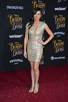 Colleen Ballinger at the premiere for Disney's &quot;Beauty and the Beast&quot; at El Capitan Theatre, Hollywood. Los Angeles, USA 02 March  2017<br /> Picture: Paul Smith/Featureflash/SilverHub 0208 004 5359 sales@silverhubmedia.com