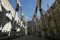 Ruins of the Carmo in Lisbon