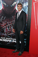 Chris Zylka at the premiere of Columbia Pictures' 'The Amazing Spider-Man' at the Regency Village Theatre on June 28, 2012 in Westwood, California. © mpi22/MediaPunch Inc. *NORTEPHOTO.COM*<br />
