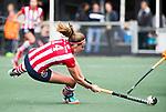 AMSTELVEEN - Nina van der Marel (HDM)   Hoofdklasse competitie dames, Hurley-HDM (2-0) . FOTO KOEN SUYK