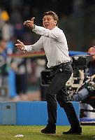 FUSSBALL   CHAMPIONS LEAGUE   SAISON 2011/2012     18.10.2011 SSC Neapel - FC Bayern Muenchen  Trainer Walter Mazzarri (SSC Neapel)
