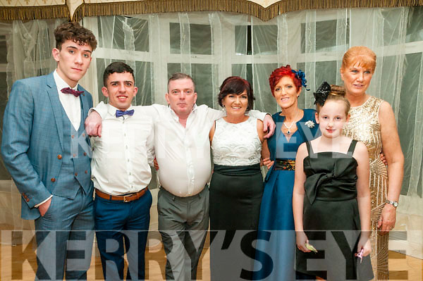 Charity Ball : Pictutred at the the charity fundraiser ball in aid of Neurofibromatosis Association of Ireland in the Listowel Arms Hotel on Saturday night last were Jamie & Vincent McVeigh, Tony & Allison Brady,Bridget & Carla O'Reilly & Eileen Sheehan.