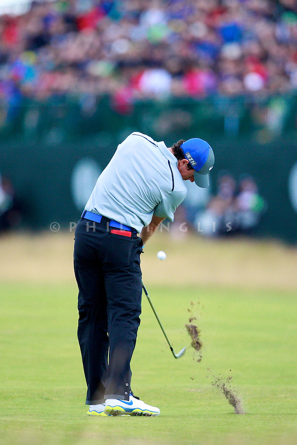 Rory McILROY (IRE) in action during the third round of the 143rd Open Championship played at Royal Liverpool Golf Club, Hoylake, Wirral, England. 17 - 20 July 2014 (Picture Credit / Phil Inglis)