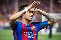 FC Barcelona's forward Neymar Santos Jr after Copa del Rey (King's Cup) Final between Deportivo Alaves and FC Barcelona at Vicente Calderon Stadium in Madrid, May 27, 2017. Spain.<br /> (ALTERPHOTOS/BorjaB.Hojas) /NortePhoto.com