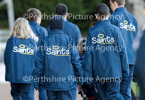 St Johnstone v Celtic&hellip;04.11.17&hellip;  McDiarmid Park&hellip;  SPFL<br />The ballboys sponsored by Saints in the Community<br />Picture by Graeme Hart. <br />Copyright Perthshire Picture Agency<br />Tel: 01738 623350  Mobile: 07990 594431