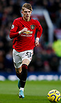 Brandon Williams of Manchester United during the Premier League match at Old Trafford, Manchester. Picture date: 11th January 2020. Picture credit should read: James Wilson/Sportimage