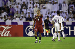 Al Ain SC plays Bec Tero Sasana on their AFC Champions League Final 1st leg match on October 03, 2003 at the Sheikh Tahnon Stadium stadium in Al Ain City, United Arab Emirates. Photo by World Sport Group