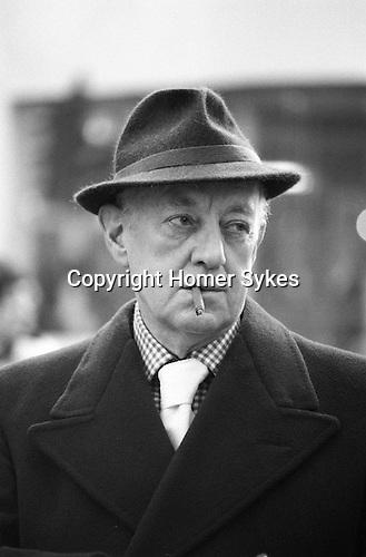 Sir Alec Guinness London UK 1977.