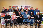 Thank you<br /> --------------<br /> At the monthly meeting of the Kerry Motor Club in the Fels Point hotel,Tralee,Circuit of Kerry rally 2015, Clerk of the Course,Tom Barrett ( 3rd Lt)  hands a cheque for 300 euro to Mary Scanlon,principal of Brosna NS,in appreciation for the co-operation from the local residents during the recent car rally,also receiving a similar amount is Senan Raggett (3rd Rt) chairman of the Glenageenty walking group from Maurice McElligott,chairman of the KMC,pictured also is Jason Brick,KMC,(far Lt)and Danial Griffin,Fels Point hotel.
