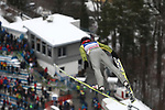 FIS Ski Jumping World Cup - 4 Hills Tournament 2019 in Innsvruck on January 4, 2019; A forunner flying