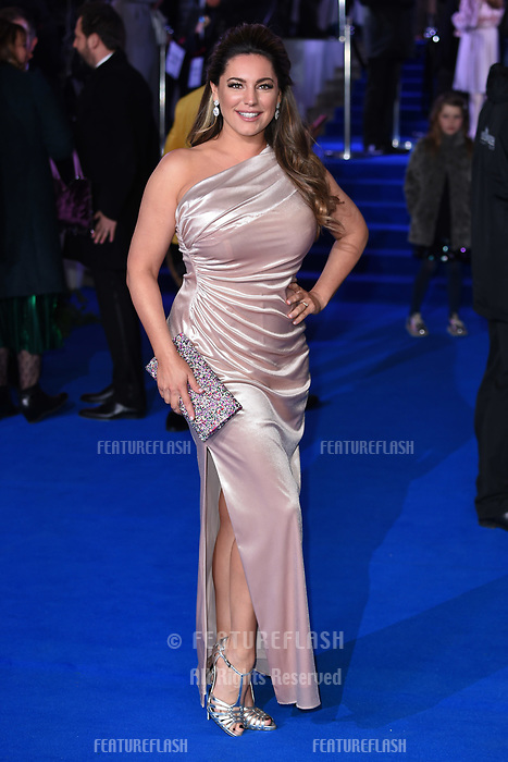 """LONDON, UK. December 12, 2018: Kelly Brook at the UK premiere of """"Mary Poppins Returns"""" at the Royal Albert Hall, London.<br /> Picture: Steve Vas/Featureflash"""