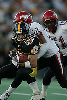 Low res photo of Ticat Darren Flutie for evaluation by Hamilton Spectator photo department.