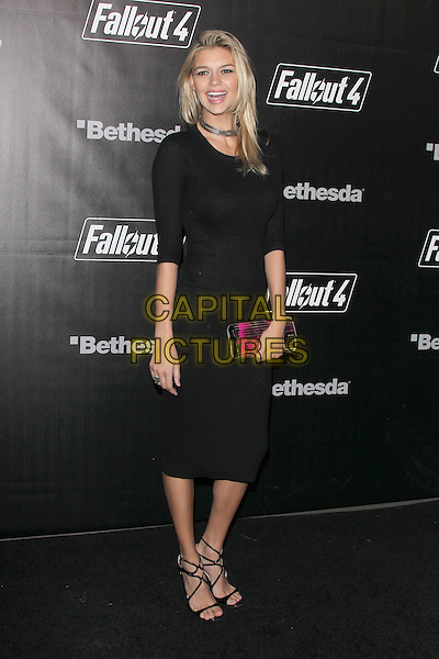 LOS ANGELES, CA - NOVEMBER 5: Kelly Rohrbach at the Fallout 4 video game launch event in downtown Los Angeles on November 5, 2015 in Los Angeles, California. <br /> CAP/MPI21<br /> &copy;MPI21/Capital Pictures