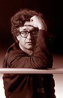 Wim Wenders, è un regista, sceneggiatore, produttore cinematografico tedesco. Film, cultura tedesca. Lido 14 settembre 1994. Photo by Leonardo Cendamo/Gettyimages