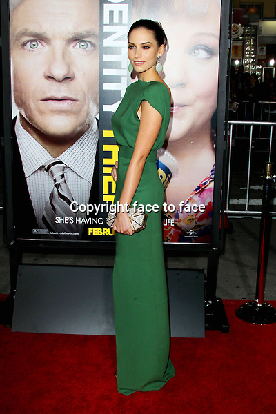 """Genesis Rodriguez at the """"Identity Thief"""" film premiere at Mann Village Westwood in Los Angeles, California. February 4, 2013. ..Credit: MediaPunch/face to face..- Germany, Austria, Switzerland, Eastern Europe, Australia, UK, USA, Taiwan, Singapore, China, Malaysia and Thailand rights only -"""