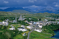 Seaside village of Clifden, Connemara District, County Galway, Ireland, AGPix_0137 .