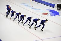 SCHAATSEN: HEERENVEEN: 2014, IJsstadion Thialf, Topsporttraining Team Continu, ©foto Martin de Jong