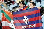 Sociedad Deportiva Eibar's supporters during La Liga match. March 18,2016. (ALTERPHOTOS/Acero)