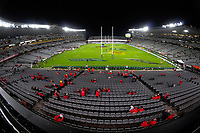 Fans start arriving for the 2017 DHL Lions Series rugby union 3rd test match between the NZ All Blacks and British & Irish Lions at Eden Park in Auckland, New Zealand on Saturday, 8 July 2017. Photo: Dave Lintott / lintottphoto.co.nz