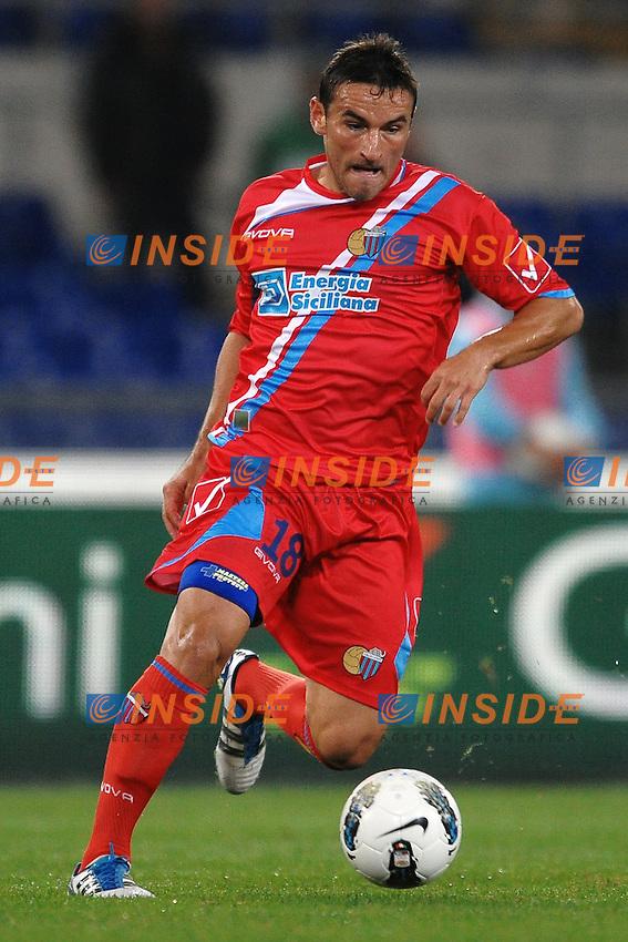 """Gonzalo BERGESSIO Catania.Roma 26/10/2011 Stadio """"olimpico"""".Football Calcio Serie A 2011/2012.Lazio Vs Catania.Foto Insidefoto Andrea Staccioli"""
