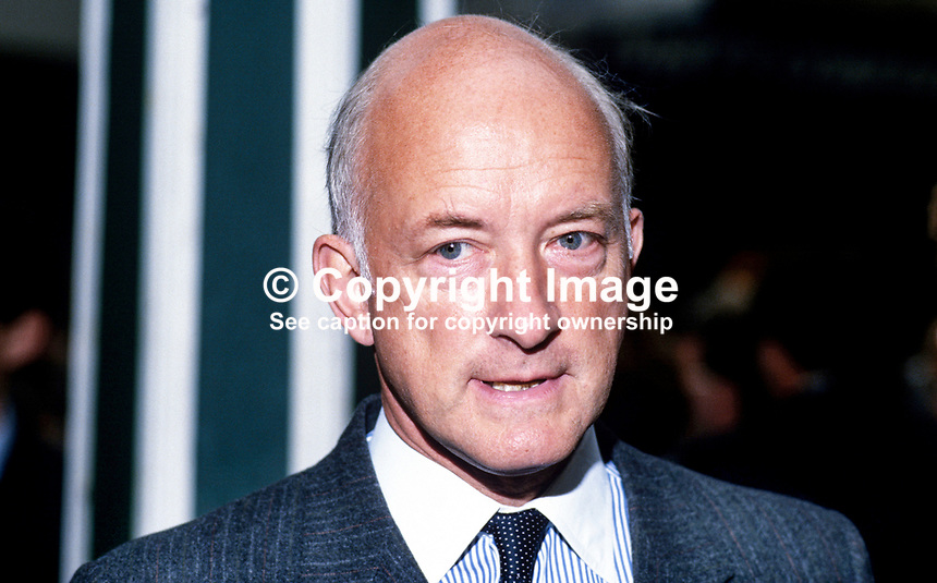 Geoffrey Pattie, MP, Conservative Party, UK, 19871012GP.<br />