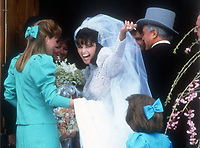 Maria Shriver wedding 1986<br /> Photo By John Barrett/PHOTOlink