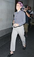 Megan Rapinoe At NBC's Today Show