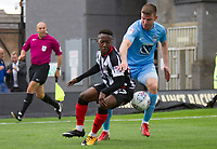 Siriki Dembélé of Grimsby Town during Grimsby Town vs Coventry City, Sky Bet EFL League 2 Football at Blundell Park on 12th August 2017