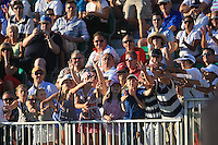 Waiting for the Ball on the 18th on the third day of the DUBAI WORLD CHAMPIONSHIP presented by DP World, Jumeirah Golf Estates, Dubai, United Arab Emirates.Picture Denise Cleary www.golffile.ie