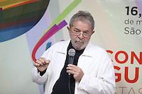 SAO PAULO, SP, 16.05.2014 - ENCONTRO COM BLOGUEIROS - Luis Inacio Lula da Silva ex presidente do Brasil durante encontro com blogueiros no centro da cidade de Sao Paulo nesta sexta-feira. (Foto: Vanessa Carvalho / Brazil Photo Press).