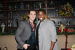 LOS ANGELES - DEC11: Scott Nevins, Alex Newell at Scott Nevins Presents SPARKLE: An All-Star Holiday Concert to benefit The Actors Fund at Rockwell Table & Stage on December 11, 2014 in Los Angeles, California