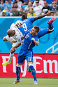 (L-R) Egidio Arevalo Rios (URU), Mario Balotelli, Ciro Immobile (ITA), JUNE 24, 2014 - Football / Soccer : FIFA World Cup Brazil 2014 Group D match between Italy 0-1 Uruguay at Estadio das Dunas in Natal, Brazil. (Photo by Maurizio Borsari/AFLO)