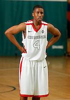 April 9, 2011 - Hampton, VA. USA;  Kevin Zabo participates in the 2011 Elite Youth Basketball League at the Boo Williams Sports Complex. Photo/Andrew Shurtleff