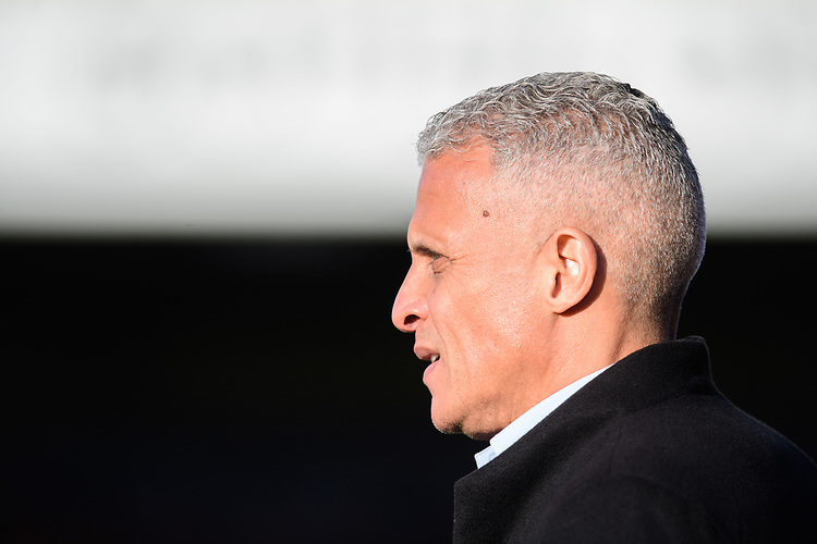 Northampton Town manager Keith Curle<br /> <br /> Photographer Chris Vaughan/CameraSport<br /> <br /> The EFL Sky Bet League Two - Lincoln City v Northampton Town - Saturday 9th February 2019 - Sincil Bank - Lincoln<br /> <br /> World Copyright © 2019 CameraSport. All rights reserved. 43 Linden Ave. Countesthorpe. Leicester. England. LE8 5PG - Tel: +44 (0) 116 277 4147 - admin@camerasport.com - www.camerasport.com