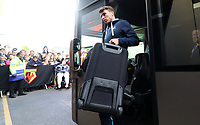 Tom Carroll of Swansea City arrives at Vicarage Road Stadium prior to kick off of the Premier League match between Watford and Swansea City at Vicarage Road Stadium, Watford, England, UK. Saturday 15 April 2017