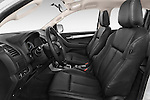 Front seat view of a 2015 Isuzu D-Max LSX 4 Door Pickup 2WD Front Seat car photos