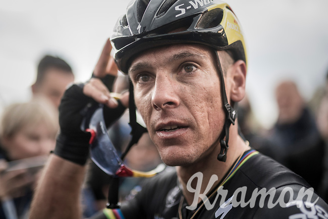 Race winner Philippe Gilbert (BEL/Quick Step floors) immediately after his 4th Amstel win<br /> <br /> 52nd Amstel Gold Race (1.UWT)<br /> 1 Day Race: Maastricht &rsaquo; Berg en Terblijt (264km)