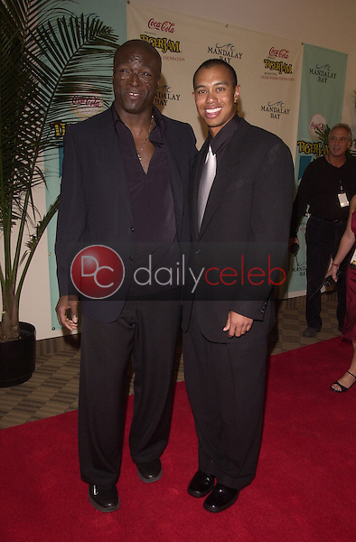 Seal and Tiger Woods