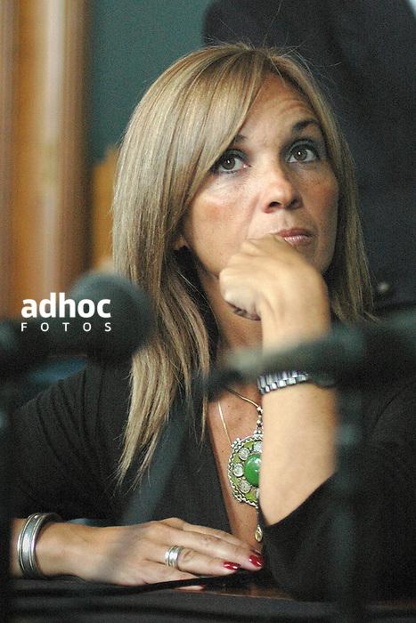Beatriz Argimon. Montevido, 2007.<br /> URUGUAY / MONTEVIDEO / <br /> Foto: Ricardo Ant&uacute;nez / AdhocFotos<br /> www.adhocfotos.com